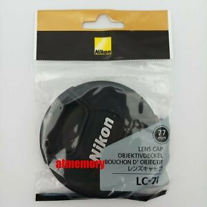 Genuine Nikon LC-77 Lens Cap 77mm Snap on front lens cap