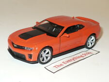 Welly Chevy Camaro Zl1 4.5 Inches Long Orange Free Ship