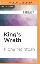 Valisar Trilogy: King's Wrath 3 by Fiona McIntosh (2016, MP3 CD, Unabridged)
