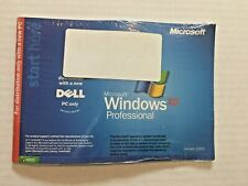 MICROSOFT Windows XP Professional SP2 Dell Reinstallation Disc CD Service Pack 2