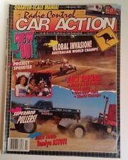 RC Car Action Magazine Feb VTG 1990 RARE VHTF Ads Tamiyo Australia Puller Sprint