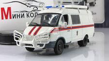 "GAZ 2705 AutoLegends USSR. Diecast Metal model 1:43 Length 4.8"". Deagostini"