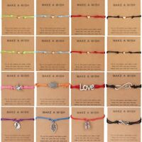 Charm Wish Bracelet Tibetan Friendship Best Friend Bangle Valentine's Day Gift