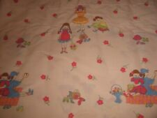 Vintage Laura Ashley Valance / Fabric Little Girl Dress Up Pink Wide Rod Pocket
