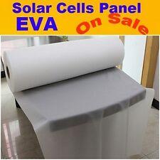 810MM x 5M Fast Laminate Solar EVA Film For DIY Solar Cell Panel Encapsulation