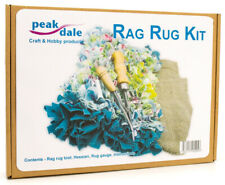 Rag Rug kit, makes 1m rug ultimate recycling craft tool hessian instructions