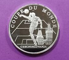 Médaille commémorative, Coupe du Monden 1998, equipe de Tchécoslovaquie