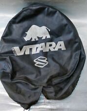 Suzuki Vitara Spare Wheel Cover - Rhino Design - Original Vintage Wheel Cover