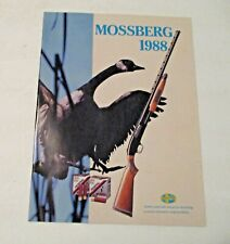 NOS VINTAGE 1988 MOSSBERG SHOTGUN FIREARMS GUNS ADVERTISING CATALOG ~ C@@L ~