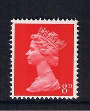 GB QEII Machin Definitive Stamp. SG 738 1968 8d Bright Vermilion MNH