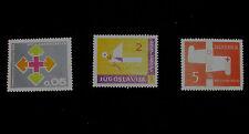 Yugoslavian (Jugoslavia) 1961-1970 Hinged Various Stamps