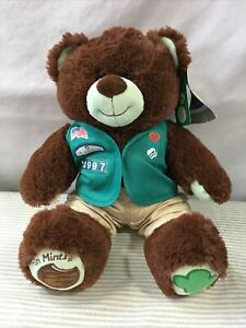 🐻 Build-a-Bear Girl Scout Thin Mint Cookie Plush Teddy Bear w/ Outfit
