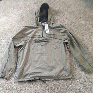 New Adidas Originals BLKOUT WB Windbreaker Jacket Mens Large Tech Olive GD9301
