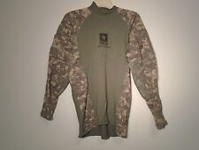US ARMY COMBAT UNIFORM ACU MASSIF COMBAT SHIRT FLAME RESISTANT 2008 MEDIUM S-12