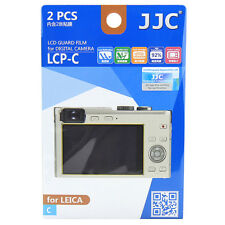 2x Film LCD Screen Display H3 Hard Protection Protector for Leica C