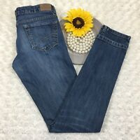 Aeropostale Womens Bayla Skinny Jeans Size 1/2 Stretch Blue Denim AR278
