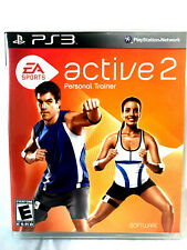 PS3 Game EA Sports Active 2 Personal Trainer Complete Mint