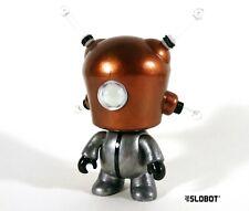 Mike Slobot Retro Robot Sculpture 3D Printed scifi tin toy art kidrobot sofubi