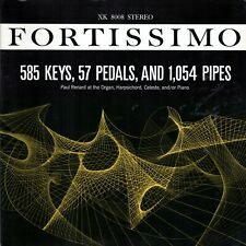 LP Paul Renard - Fortisimo Keys Pedals And Pipes, Audiophile Recording
