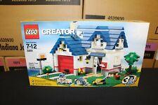 NEW Sealed Box! LEGO 5891 Creator Apple Tree House FREE Priority Mail!
