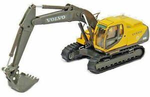 Cararama HO 810-004 Volvo EC210 Track Excavator- HO Scale Model Trains