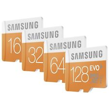 Samsung  16/32/64/128GB EVO Micro SD SDHC / SDXC Card CLASS 10 UHS-1