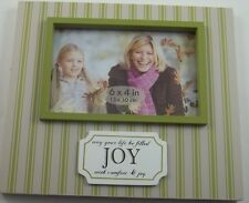 Inspire Joy Comfort Quote Wood Single Picture Frame Photo Wall Art Sign 4x6 #400