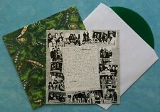 VARIOUS ARTISTS ~ No.8 WIRE ~ 1997 KIWI 16-TRACK GREEN VINYL LP RECORD + INSERT