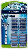 NEW Schick Hydro 5 Holder + Blade 17pc for Shaver Official Japan Import  F/S