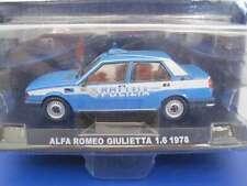 Alfa Romeo Giulietta 1.6 1978 - Polizia  1.43 Model Car  RefGG32