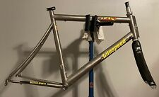 Litespeed Blade Titanium Triathlon frame Reynolds Carbon fork 650c XL