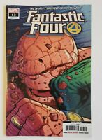 Fantastic Four #13 2nd Print Variant Thing VS Immortal Hulk Marvel Comics HTF