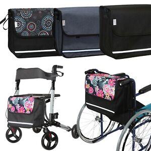 SENIORI Rollator / Rollstuhl Tasche Rollatortasche Rollstuhltasche Universal