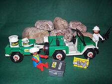 Playmobil ***Rarität*** Geländewagen mit Anhänger II 3532-A/1981, ohne OVP!