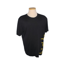 Mens NIKE Lance Armstrong Live Strong Black Dri Fit Cotton Crewneck Shirt Sz XL