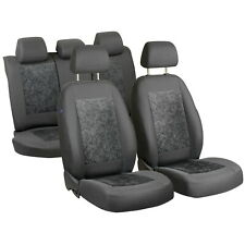 Grauee Velours Sitzbezüge für ALFA ROMEO 156 Autositzbezug Komplett