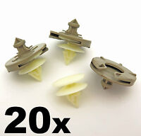 20x Plastic Door Card Clips for VW Golf Mk3 & Vento- Trim Clips for Door Panel