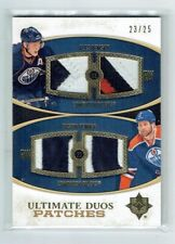 10-11 UD Ultimate Duos  Ales Hemsky--Dustin Penner  /25  Patches