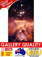 NEW Emission Nebula in Sagittarius Hubble NASA Space, Giclee Art Print or Canvas