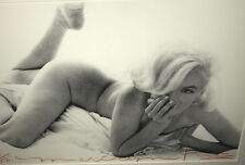 BERT STERN MARILYN MONROE PRINT SIGNED AND STAMPED authentic with provenance