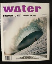 Surfline'S Water Magazine 2007 Winter #24 Surfing Hawaii Surfer Longboard