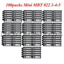 100Packs Dental OC Orthodontic Metal Brackets MIM Braces Mini MBT 022 Hooks 345
