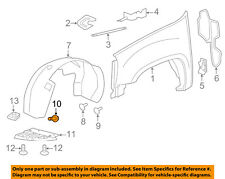 GM OEM-Fender Liner Splash Shield Bolt 11519377
