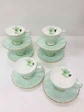 SET OF SIX FINE BONE CHINA COFFEE  CUP&SAUCER