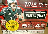 2018 Panini Playbook Football Mega Box NEW FACTORY SEALED