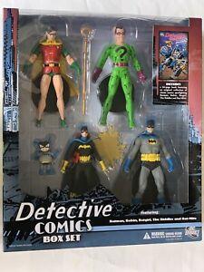 DC Batman Family Detective Comics Action Figure & 64 page Comic Book Box Set