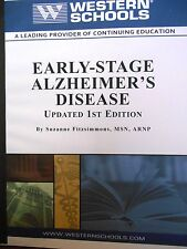 Early-Stage Alzheimer's Disease: Updated 1st Ed. by Fitzsimmons new paperback
