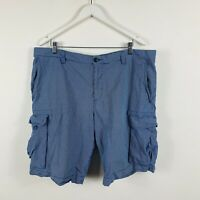Sportscraft Mens Shorts Size 40 Blue White Check Smart Casual Dress Shorts