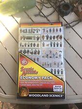 Woodland Scenics HO Figures Economy Pack #A2052