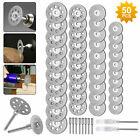 50x Diamond Cutting Wheels For Dremel Rotary Tool die grinder metal Cut Off Disc